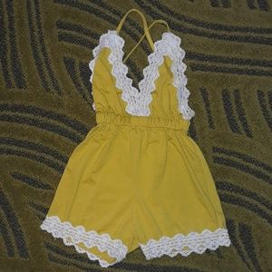 Other - Toddler haulter top romper